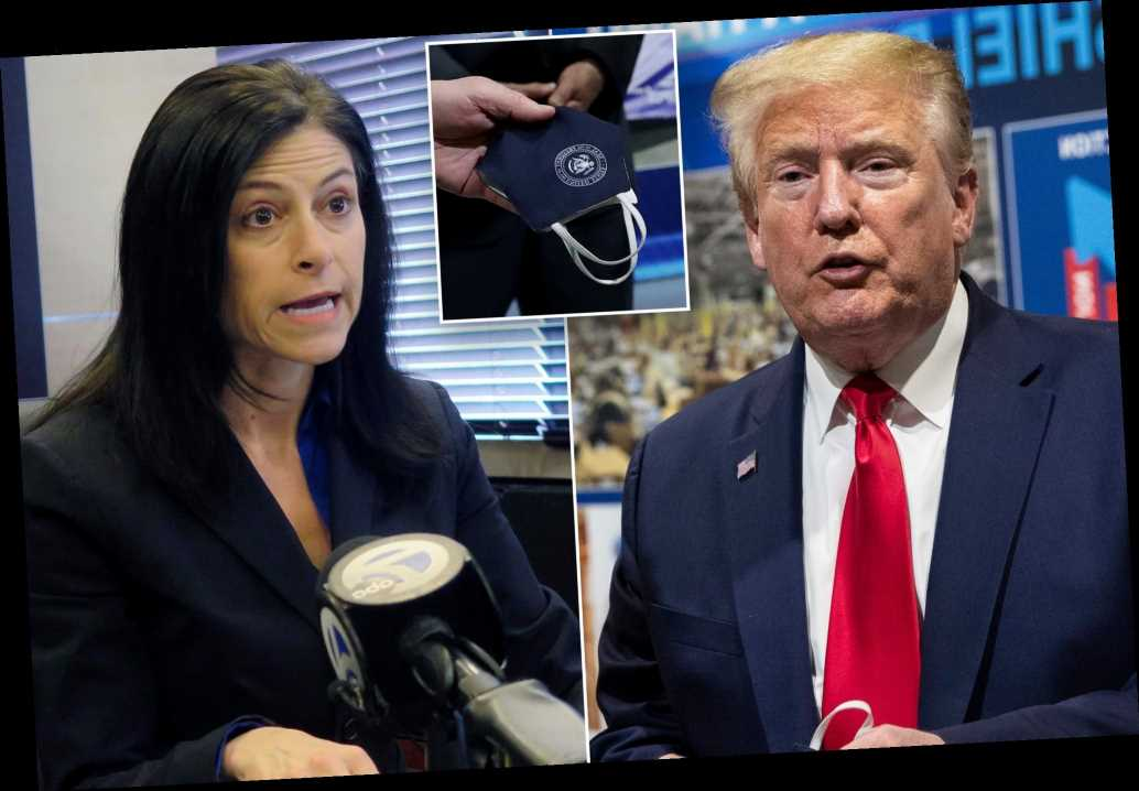 Trump blasts Michigan AG over concern he didn't wear mask at Ford plant