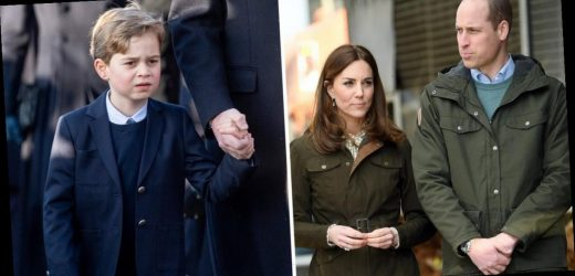 Prince William and Kate Middleton face difficult decision of sending George to boarding school after Wills 'experienced terrible trauma'