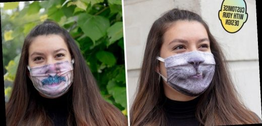 You can now personalise your face mask with any picture you want