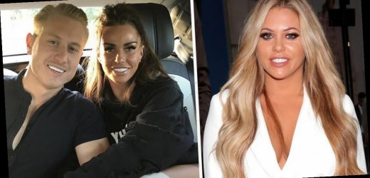 Katie Price makes nasty dig about ex Kris Boyson and his 'new little bird' Bianca Gascoigne