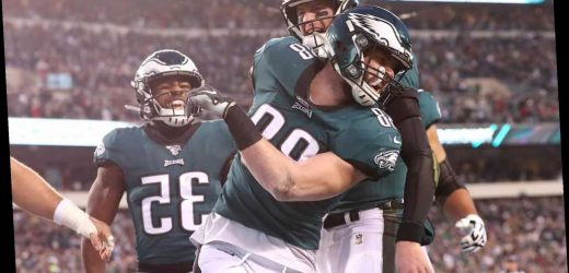 Eagles' Dallas Goedert sucker punched at restaurant with family