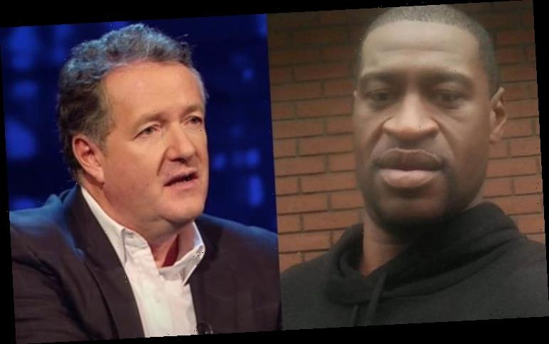 Piers Morgan: GMB host reacts to protests after 'despicable killing' of George Floyd