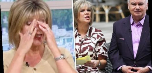 Ruth Langsford: This Morning host in tearful on-air admission after sharing family moment