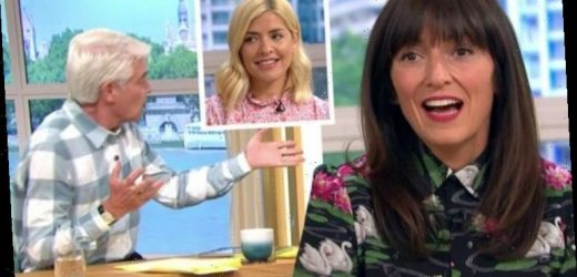 This Morning: Holly Willoughby replaced in last minute shake-up with Davina McCall
