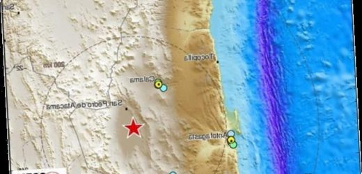 Earthquake of magnitude 6.8 strikes northern Chile, causing power cuts