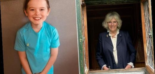 Camilla left in tears by boy's winning story in 500 Words competition