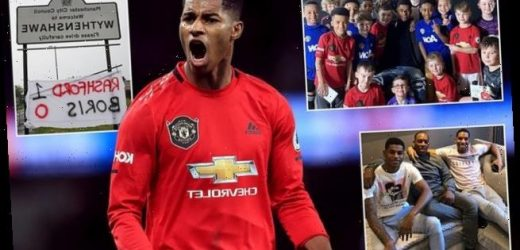The people's champ: Rashford's personal drive in school meals campaign