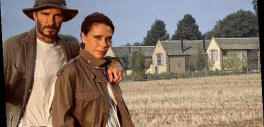 David and Victoria Beckham 'face construction near £6m Cotswolds home'