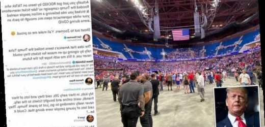 Zoomers 'sabotaged Trump's Tulsa rally by reserving tickets'