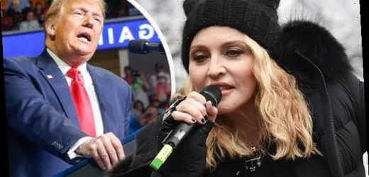 Madonna calls Trump a 'Nazi' and a 'sociopath' in blistering attack