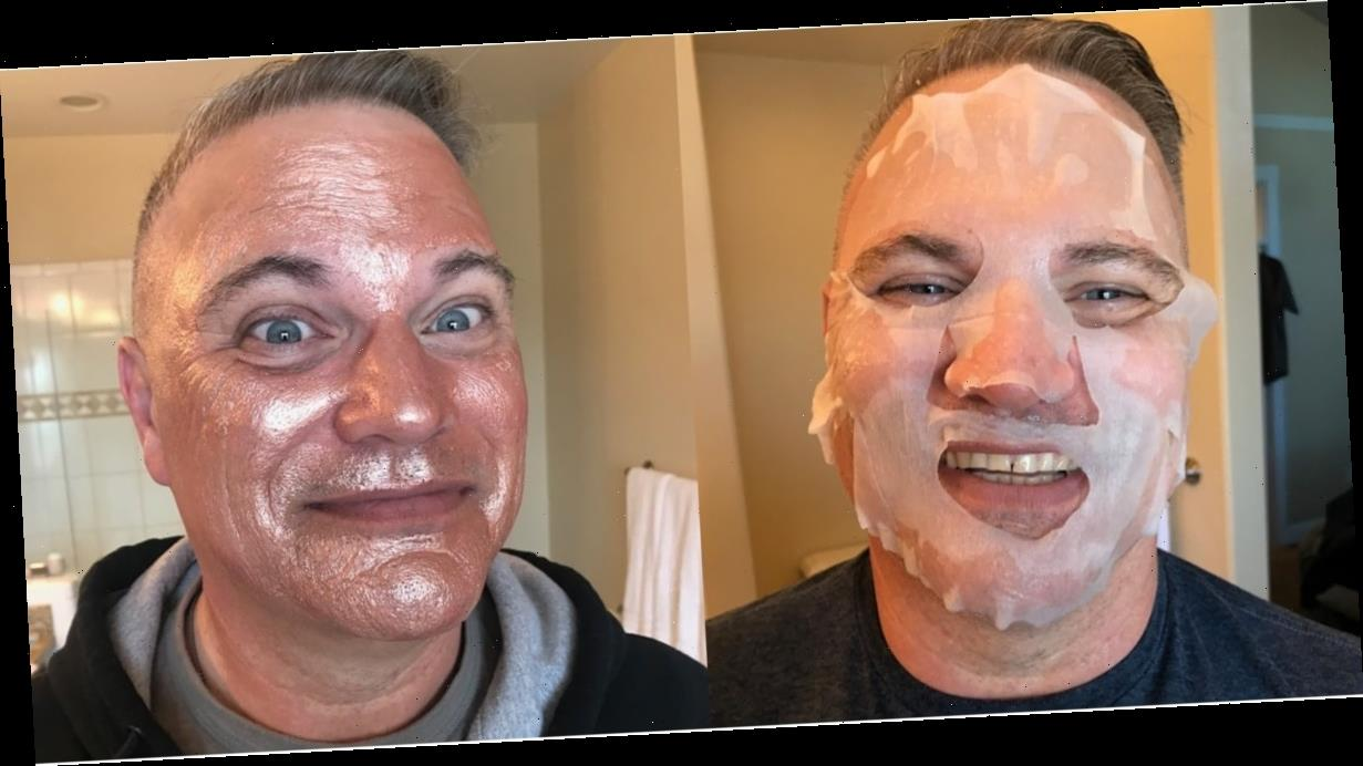 I Made My Dad Try 4 Trendy Skincare Products — Obviously, It Was Hilarious