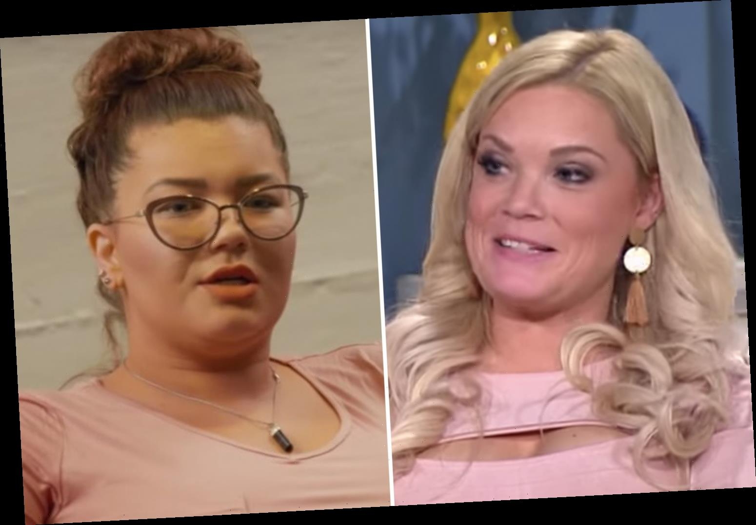 Teen Mom Amber Portwood slams 'irrelevant' 90 Day Fiance star Ashley Martson for saying her relationships are 'messy' – The Sun