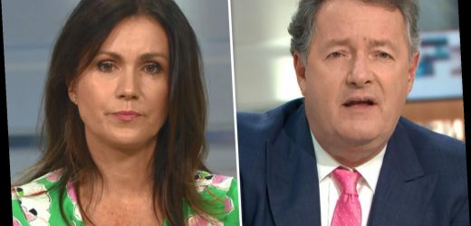 Piers Morgan horrified by 'racist filth' he's received on Twitter as Susanna Reid admits she has quit social media – The Sun
