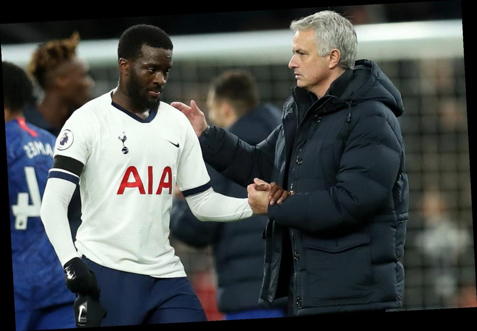 Tanguy Ndombele 'tells Jose Mourinho he will never play for him again at Tottenham after another bust-up' – The Sun