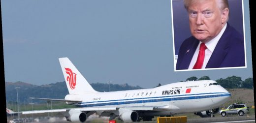 Trump 'to bar China passenger carriers from flying to US in bid to force China to let US flights resume' – The Sun