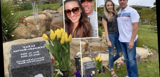 RHOC's Jim Edmonds takes new girlfriend Kortnie and daughter Hayley to late ex-wife LeAnn's grave – The Sun