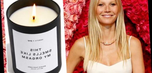 Gwyneth Paltrow now selling 'sexy' $75 candle that smells like her orgasm after controversial vagina edition – The Sun