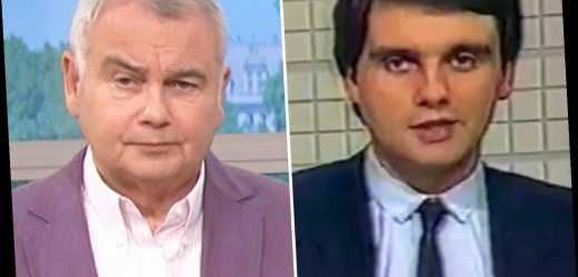 Eamonn Holmes, 60, shares incredible throwback to when he was a 21-year-old news anchor – The Sun