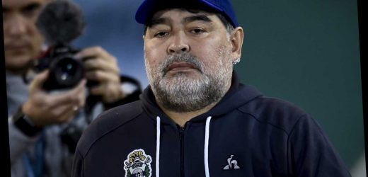 Diego Maradona's daughters prepared to go to court to help him kick 'alcohol addiction'