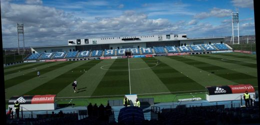 Why are Real Madrid playing Valencia at the Alfredo Di Stefano Stadium, and when will they return to the Bernabeu?