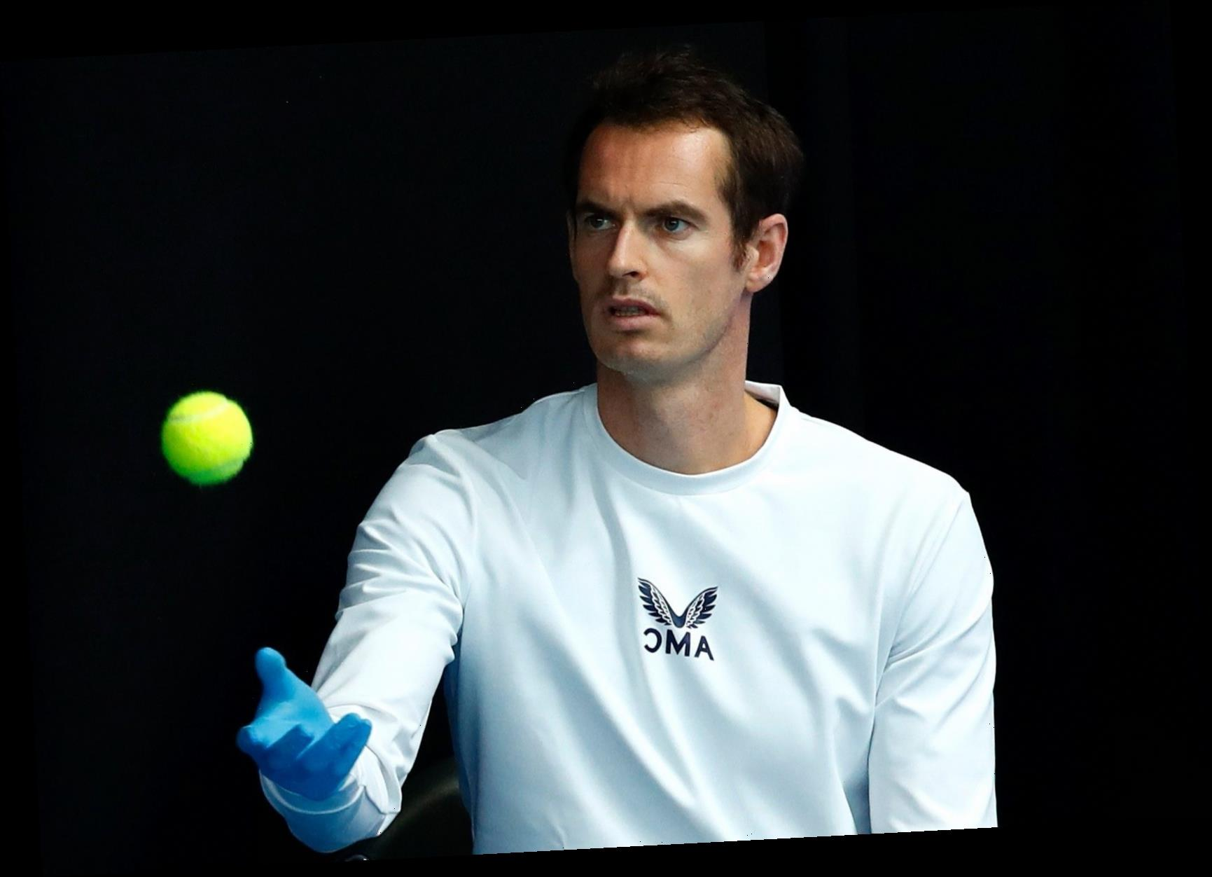 Andy Murray withdraws from Battle of the Brits third-place play-off after playing four matches in five days – The Sun