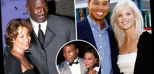 The most expensive divorces in sport, including pay offs for the ex-wives of Tiger Woods, Michael Jordan and Mike Tyson – The Sun