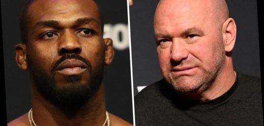Jon Jones rants about 'not being able to go anywhere else' after UFC boss Dana White tells him 'you don't have to fight' – The Sun