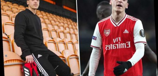 Mesut Ozil 'DUMPED by adidas as they end £22m sponsorship deal over issues with Arsenal star's public image' – The Sun