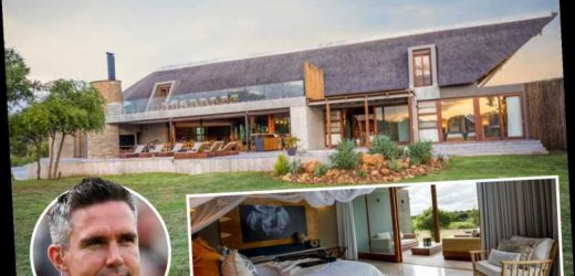 Inside Kevin Pietersen's £915-a-night safari lodge in South Africa with swimming pool, golf course and zip-lining – The Sun
