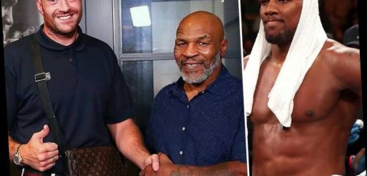 Mike Tyson names Tyson Fury as 'best heavyweight champion since myself' but snubs Anthony Joshua from his top five – The Sun