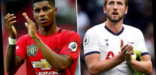 Premier League stars Harry Kane and Marcus Rashford will order fans to watch their games from the sofa