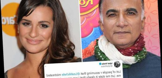 Lea Michele's former Glee costar Iqbal Theba comes to her defense after being branded a 'nightmare' by others