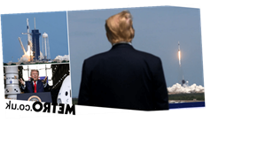 Trump 'went to see space ship launch to take mind off 100,000 Covid-19 deaths'