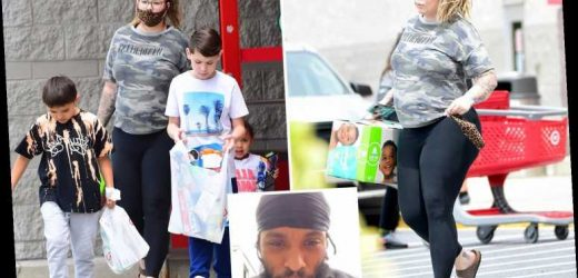Pregnant Teen Mom Kailyn Lowry shops at Target with three sons during feud with baby daddy Chris Lopez – The Sun