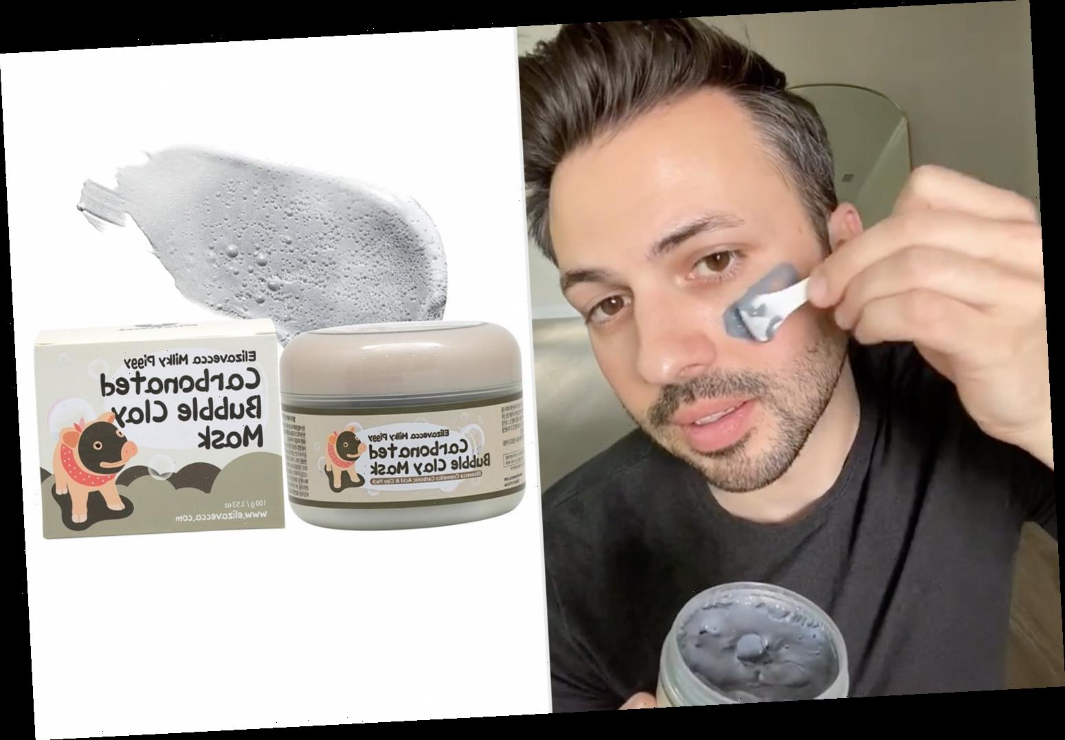 This Bubbly Clay Mask Sucks Dirt and Blackheads Out of Your Skin in Minutes
