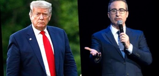 John Oliver Fights Back Tears As He Goes Off On Trump & Explains Police Brutality — 'It's Frankly Sickening'