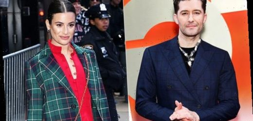 Matthew Morrison Shades Lea Michele When Asked About Her Behavior On The Set Of 'Glee'
