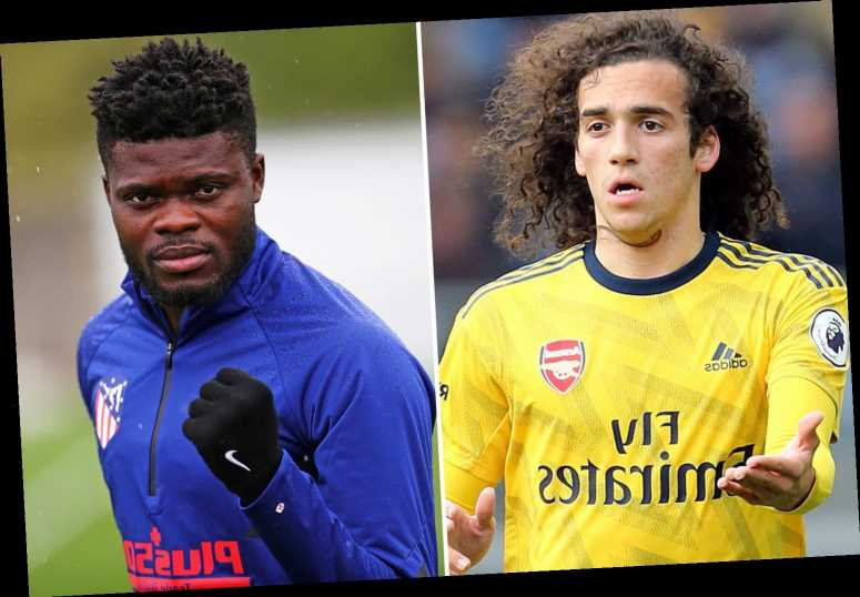 Arsenal linked with shock Thomas Partey transfer swap with Matteo Guendouzi as Atletico Madrid eye bad boy midfielder
