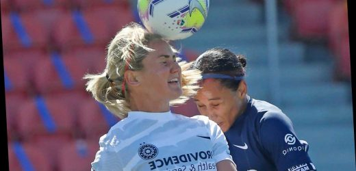 NWSL players kneel before first game of Challenge Cup, wear 'Black Lives Matter' shirts