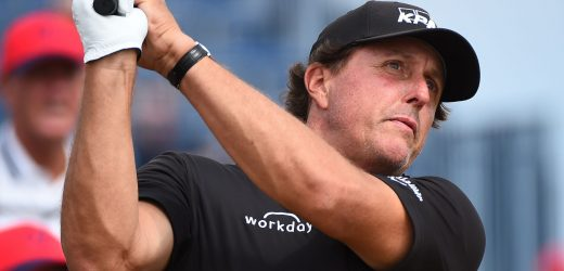 No U.S. Open golf this week, but we can still wish Phil Mickelson a happy birthday