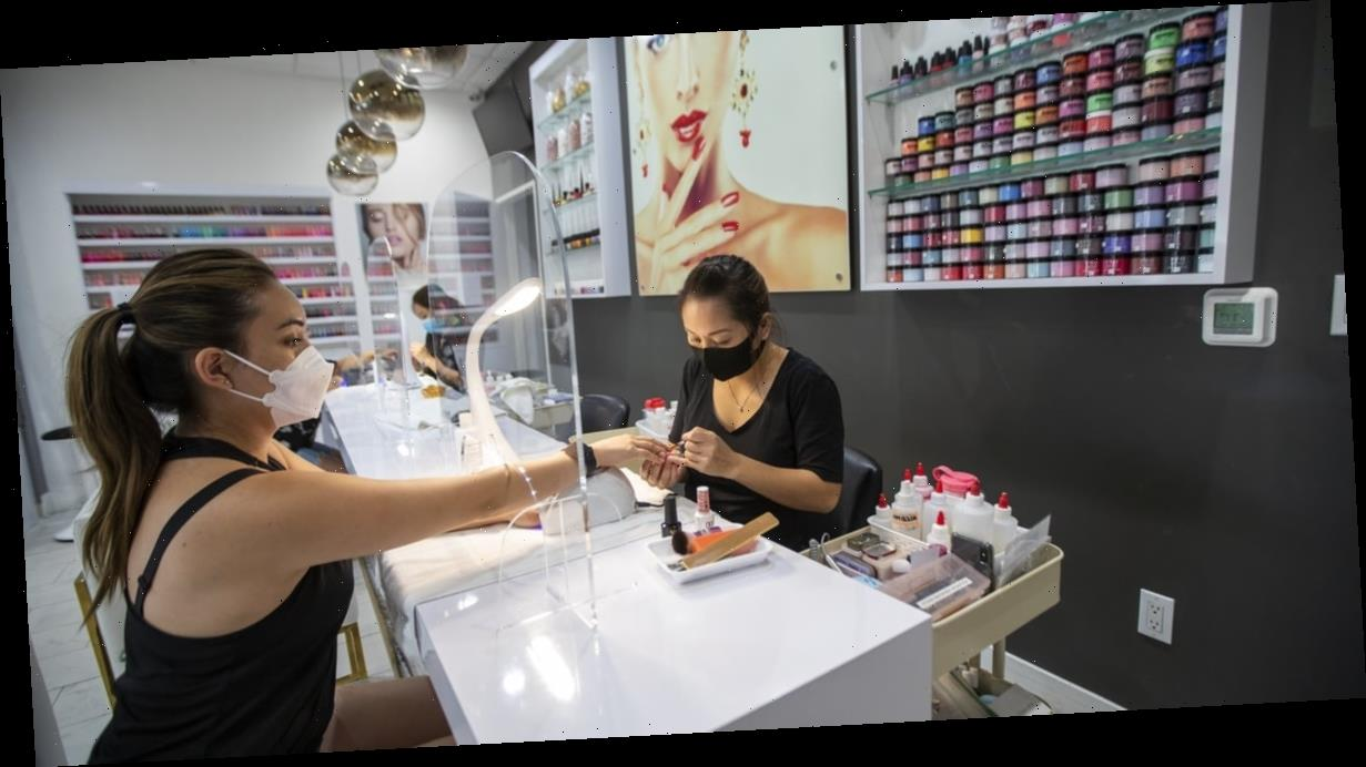 What It's Really Like For Nail Salon Owners and Employees Reopening Amid COVID-19