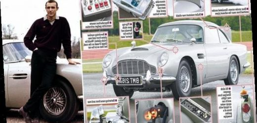 You can buy a replica of Bond's Aston Martin DB5… for £3.3million