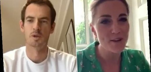 Kate Middleton and Sir Andy Murray join forces for a video call