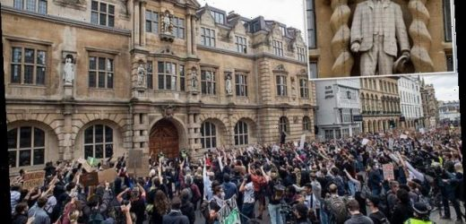 Cecil Rhodes statue will not be removed by Oxford college until 2021