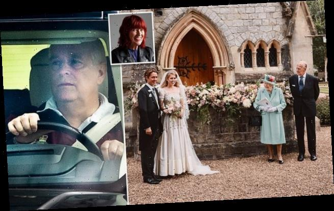 JANET STREET-PORTER: Prince Andrew was invisible at daughter's wedding