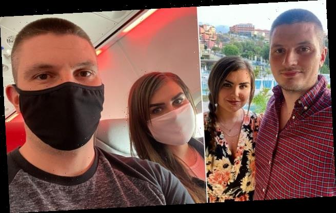 Couple among first set to be quarantined from Spain blast u-turn