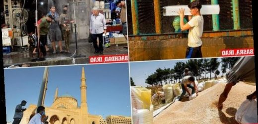 Middle East cities are hit by highest temperatures ever