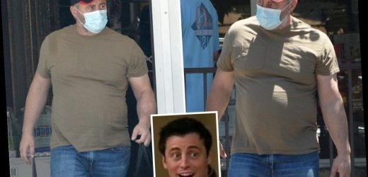 Matt LeBlanc wears a face mask in LA ahead of delayed Friends reunion