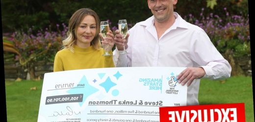Couple who scooped £105m on Euromillions splash out – on a second hand van and car