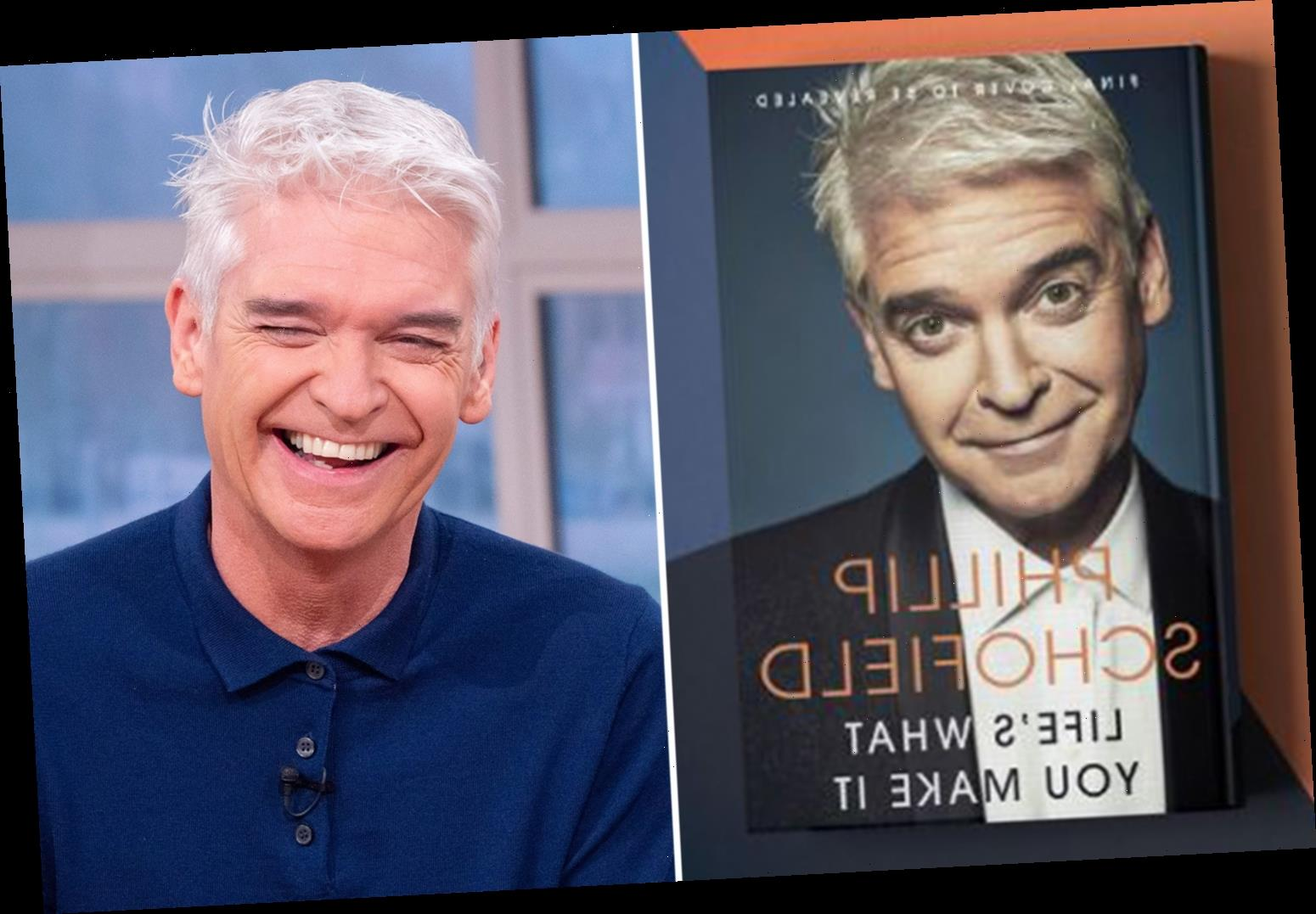Phillip Schofield reveals he's written an explosive tell-all book after coming out as gay calling it 'deeply emotional'